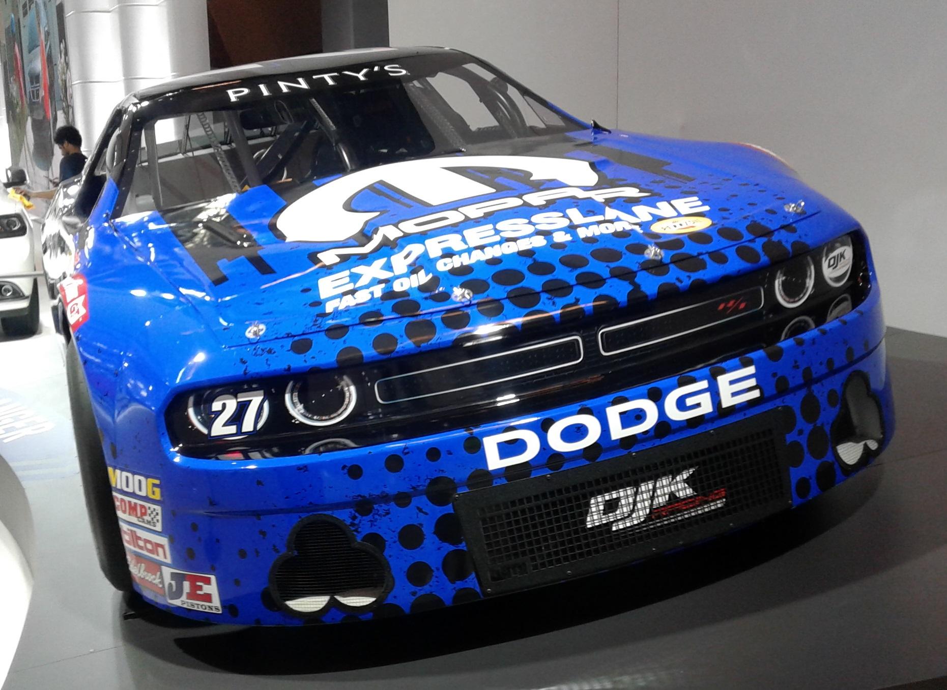 File Dodge Challenger Nascar Au Siam 2020 Jpg Wikimedia Commons
