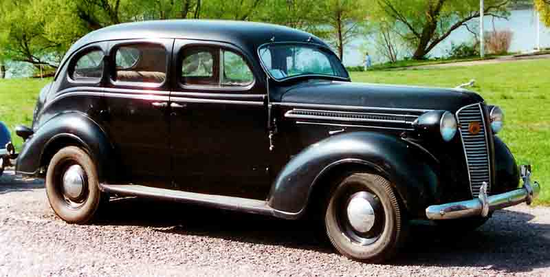 file dodge senior de luxe 4 door touring sedan