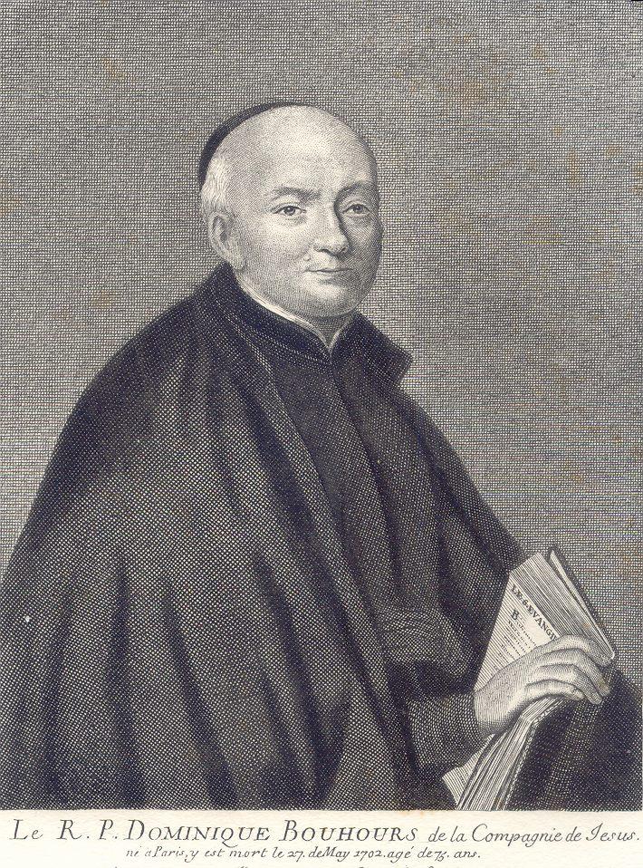 Reverend Dominique Bouhours S.J.