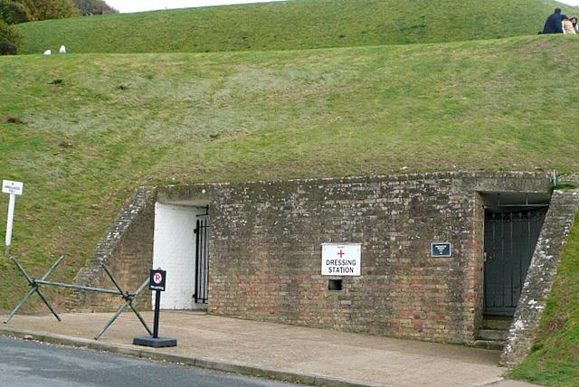 Dover Castle, secret wartime tunnels - geograph.org.uk - 2137840