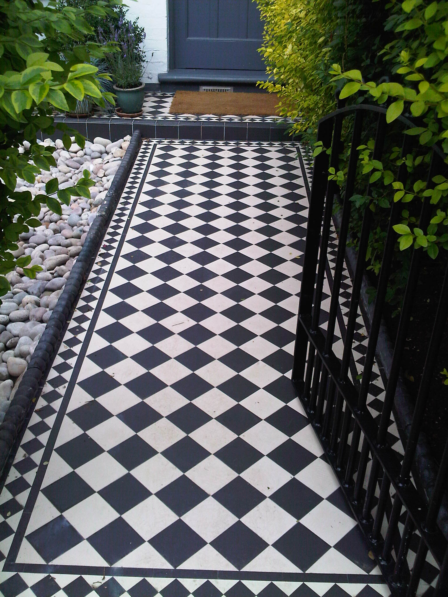 Decorative Garden Tiles