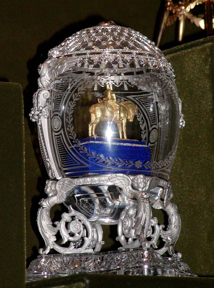 Equestrian Faberge Egg
