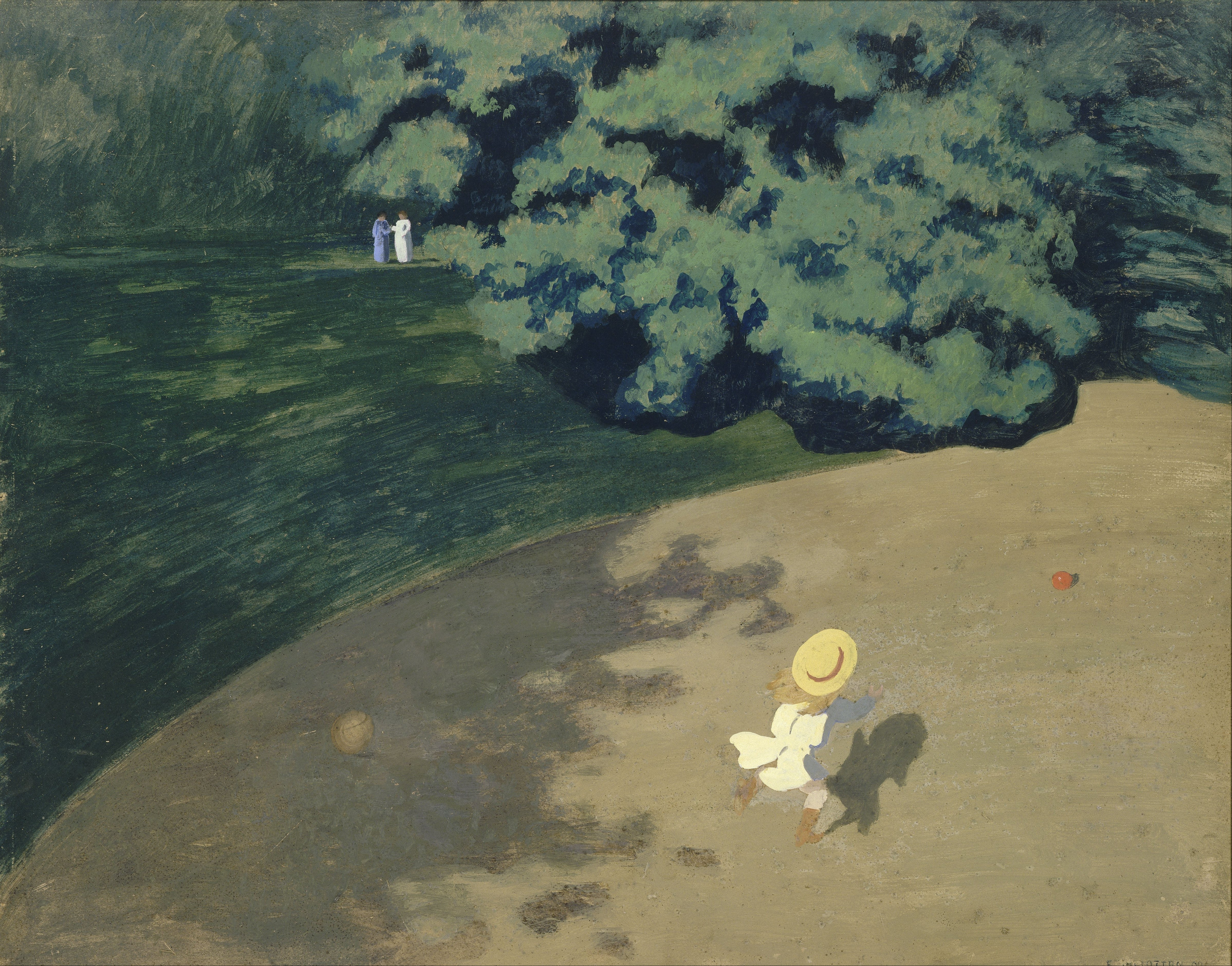 Felix Vallotton - Page 2 F%C3%A9lix_Vallotton_-_The_Ball_-_Google_Art_Project