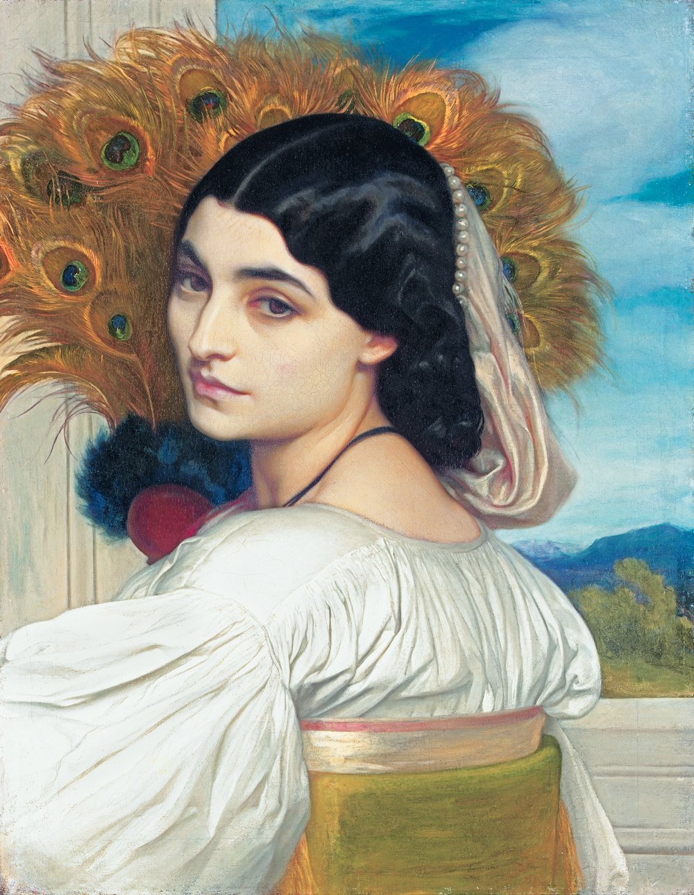 'Pavonia', Frederic Leighton, 1858-9. Private collection © Christie's