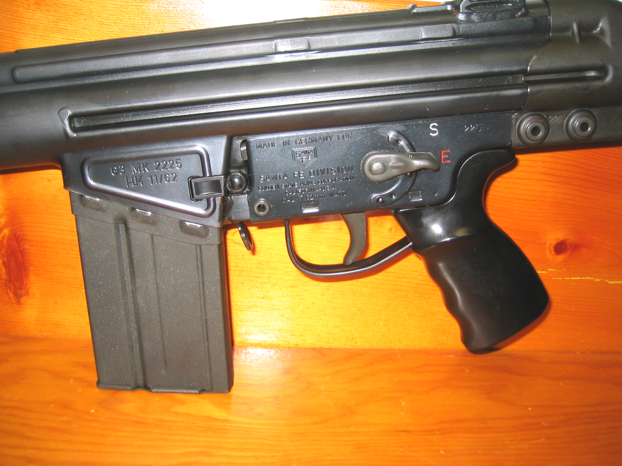 File:G3 Semi-Auto Receiver jpg - Wikimedia Commons