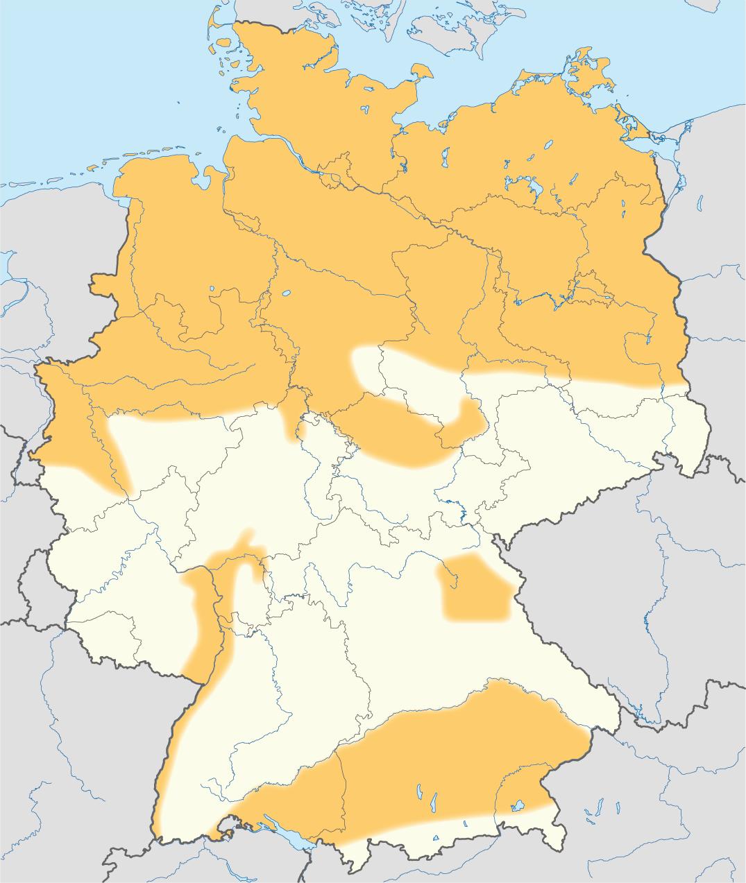 fracking karte deutschland File:Gebiete mit Schiefergaspotenzialen in Deutschland (Karte).png