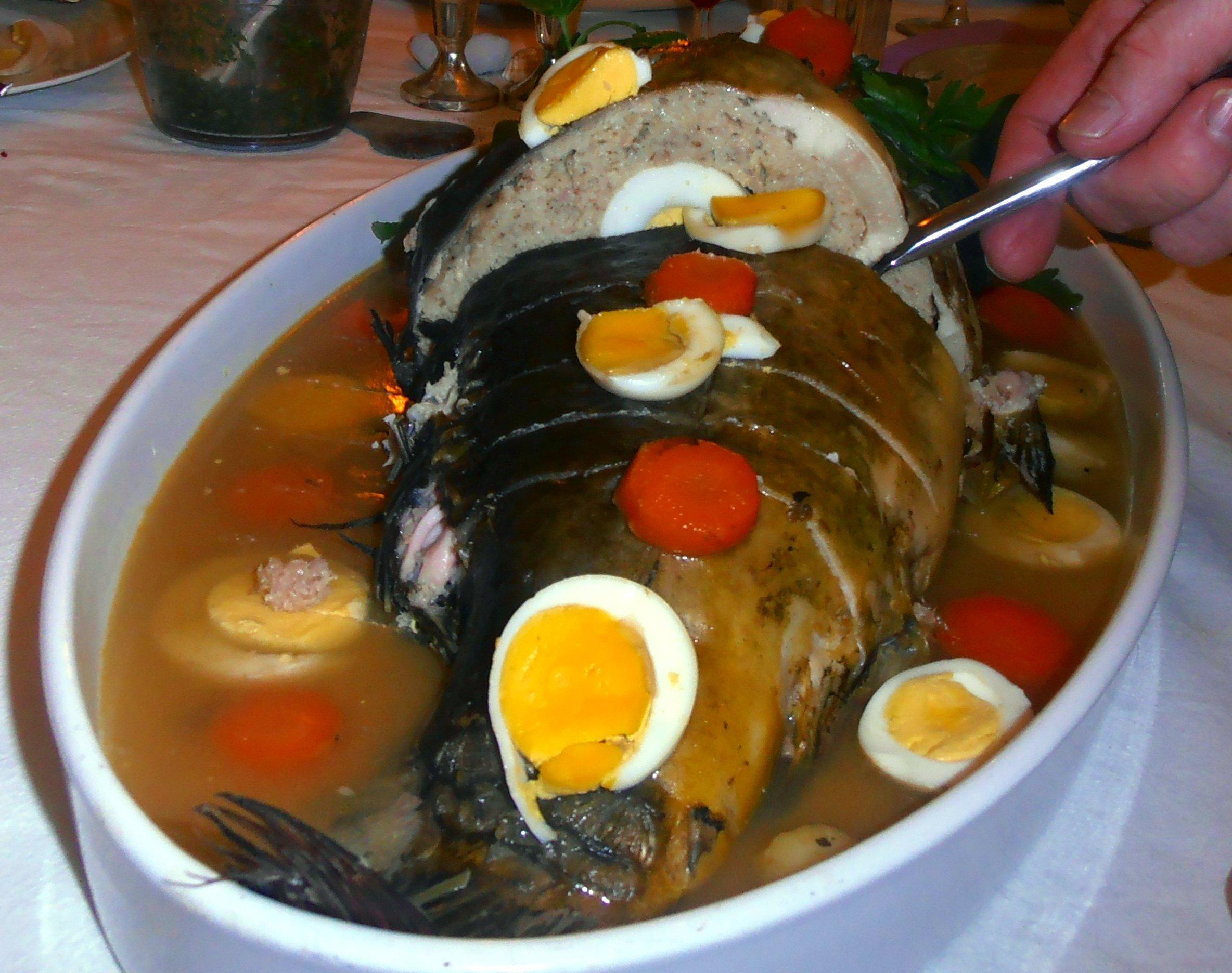 рыба фиш по еврейски рецепт с фото массивные, могут высаживаться