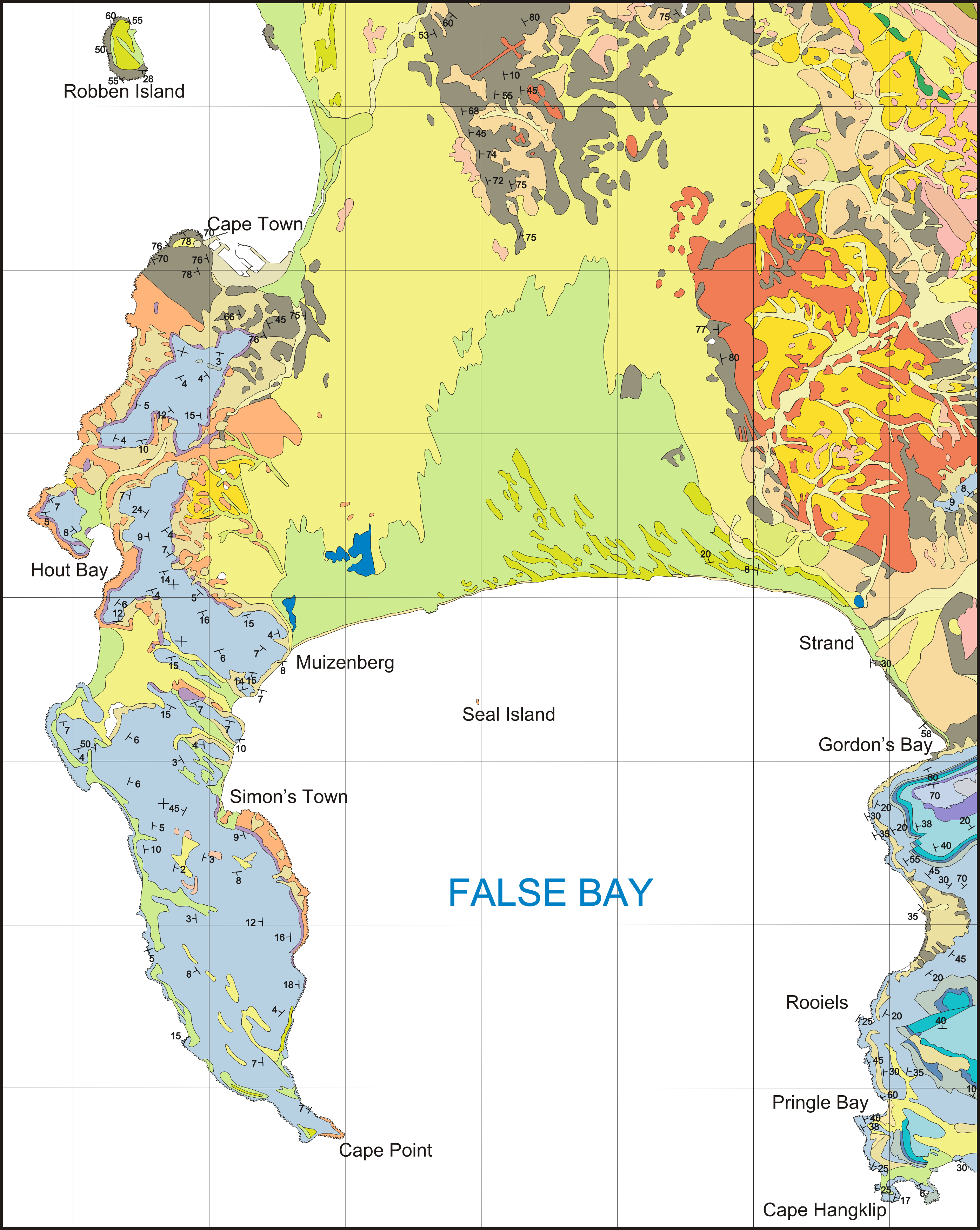 FileGeological map of the Cape Peninsula and False Baypng