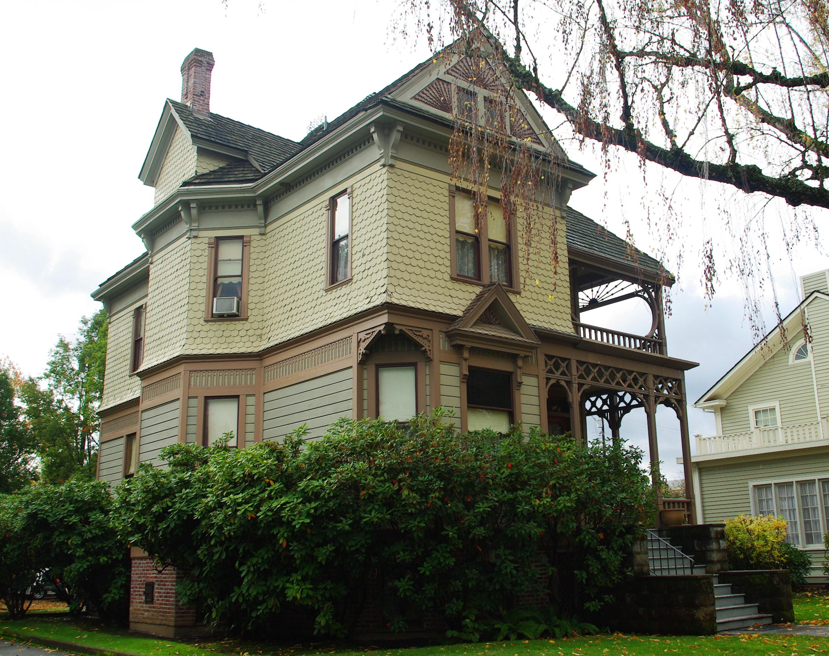 File George Collins House Salem Oregon Jpg Wikimedia