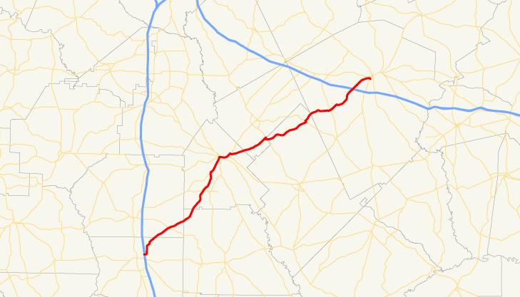 Georgia State Route 257 - Wikipedia