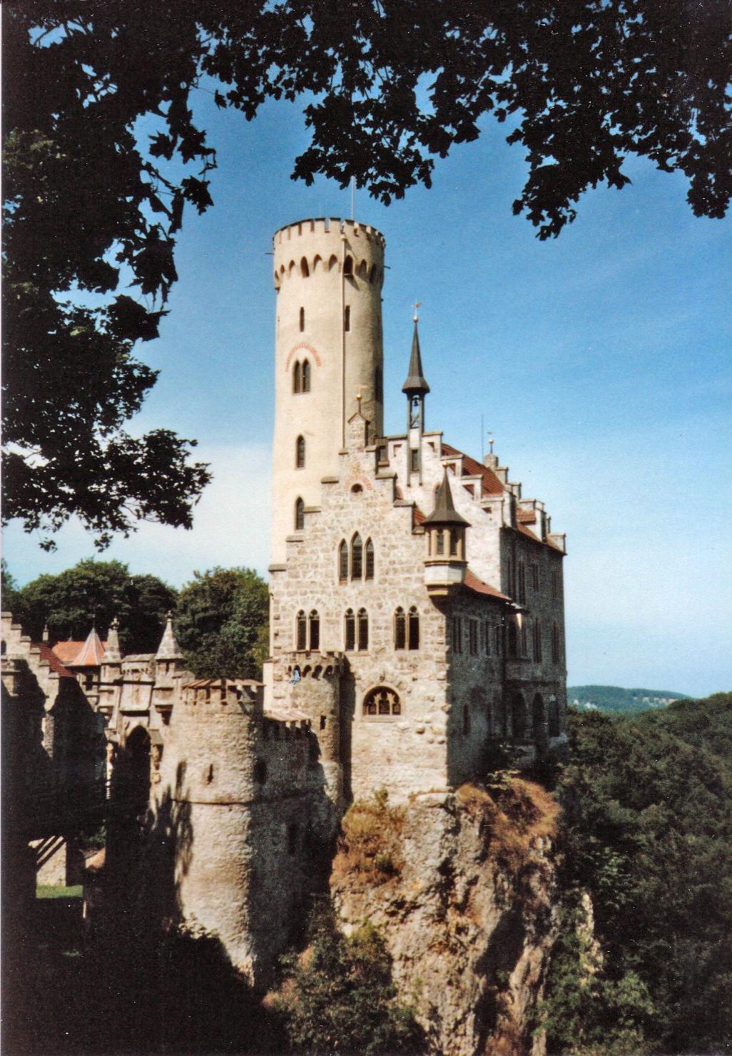 Germany Lichtenstein Schloss-Lichtenstein
