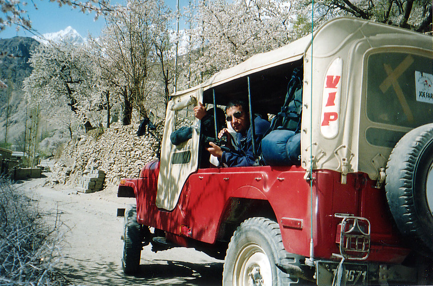 Jeeps in Gilgit are the best way to travel