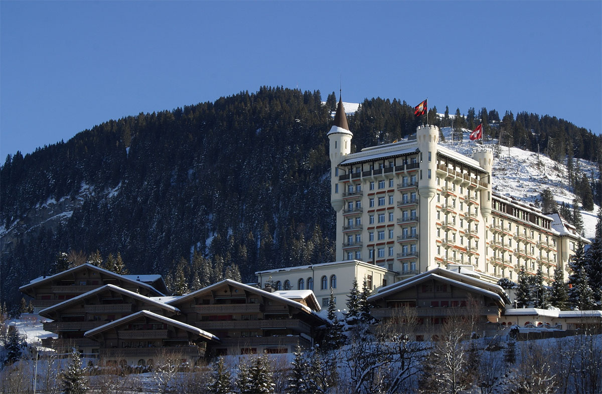 Palace Hotel Gstaad Switzerland