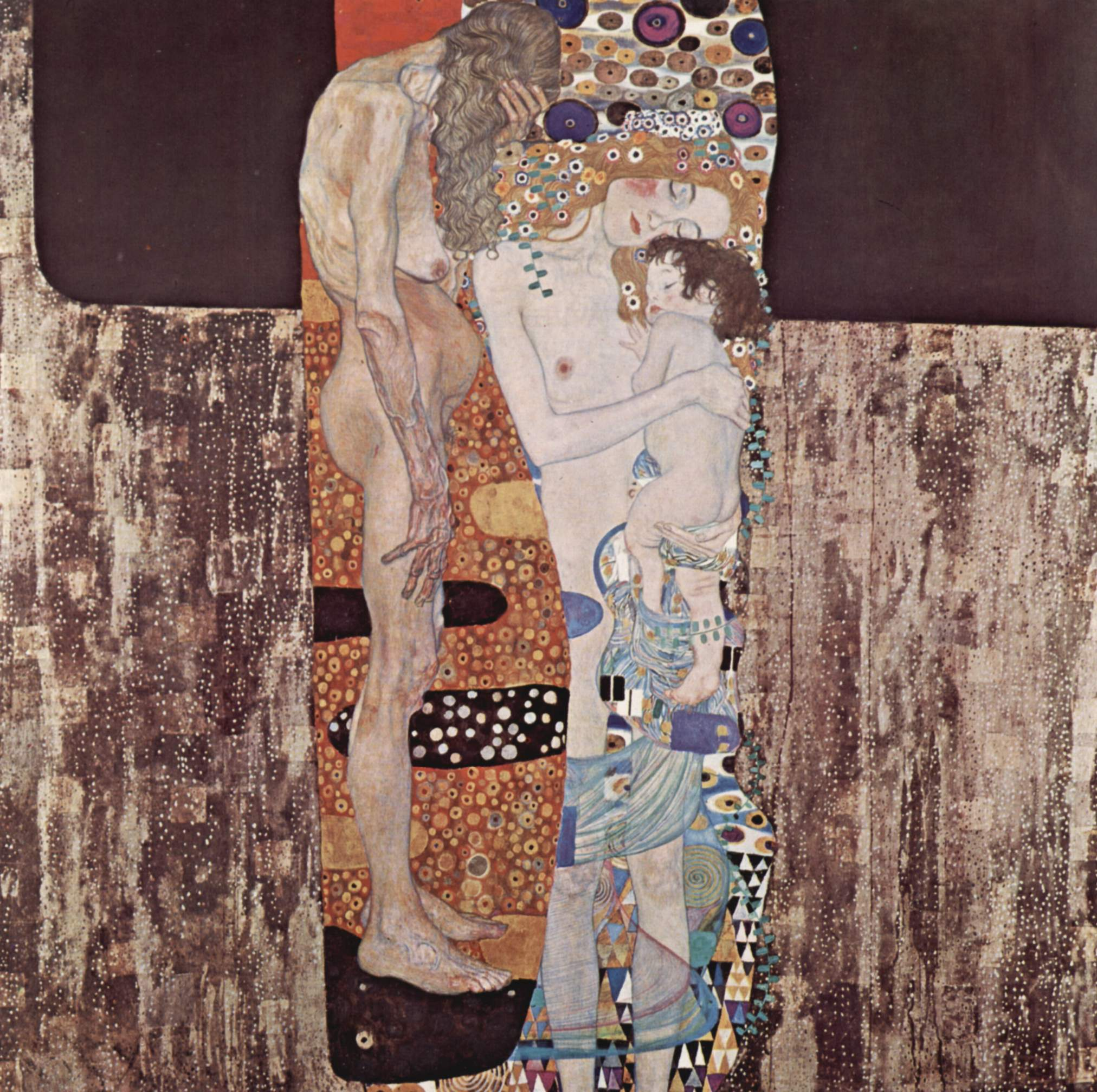 Gustav Klimt Three Ages of Woman