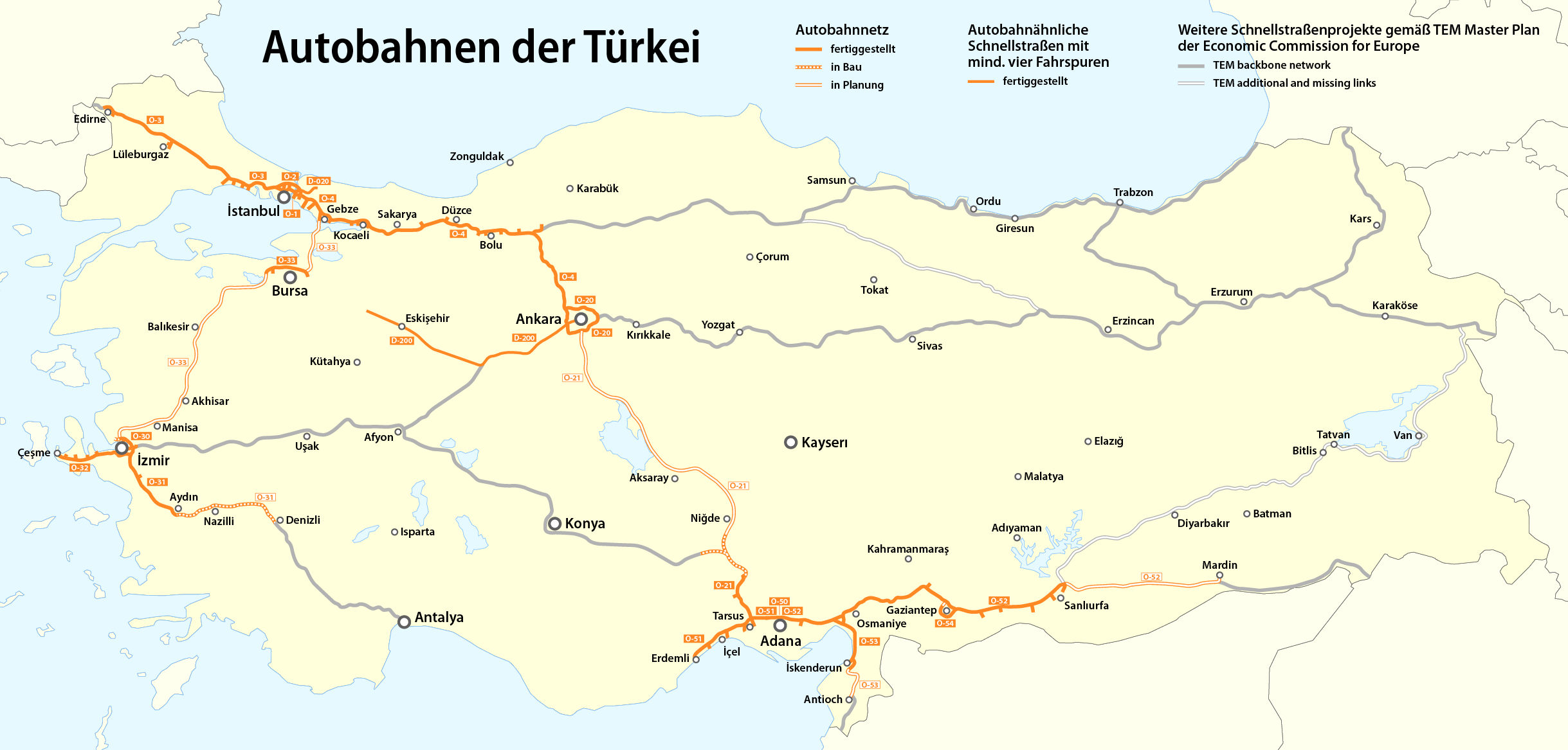 file highway map of turkey png wikimedia commons