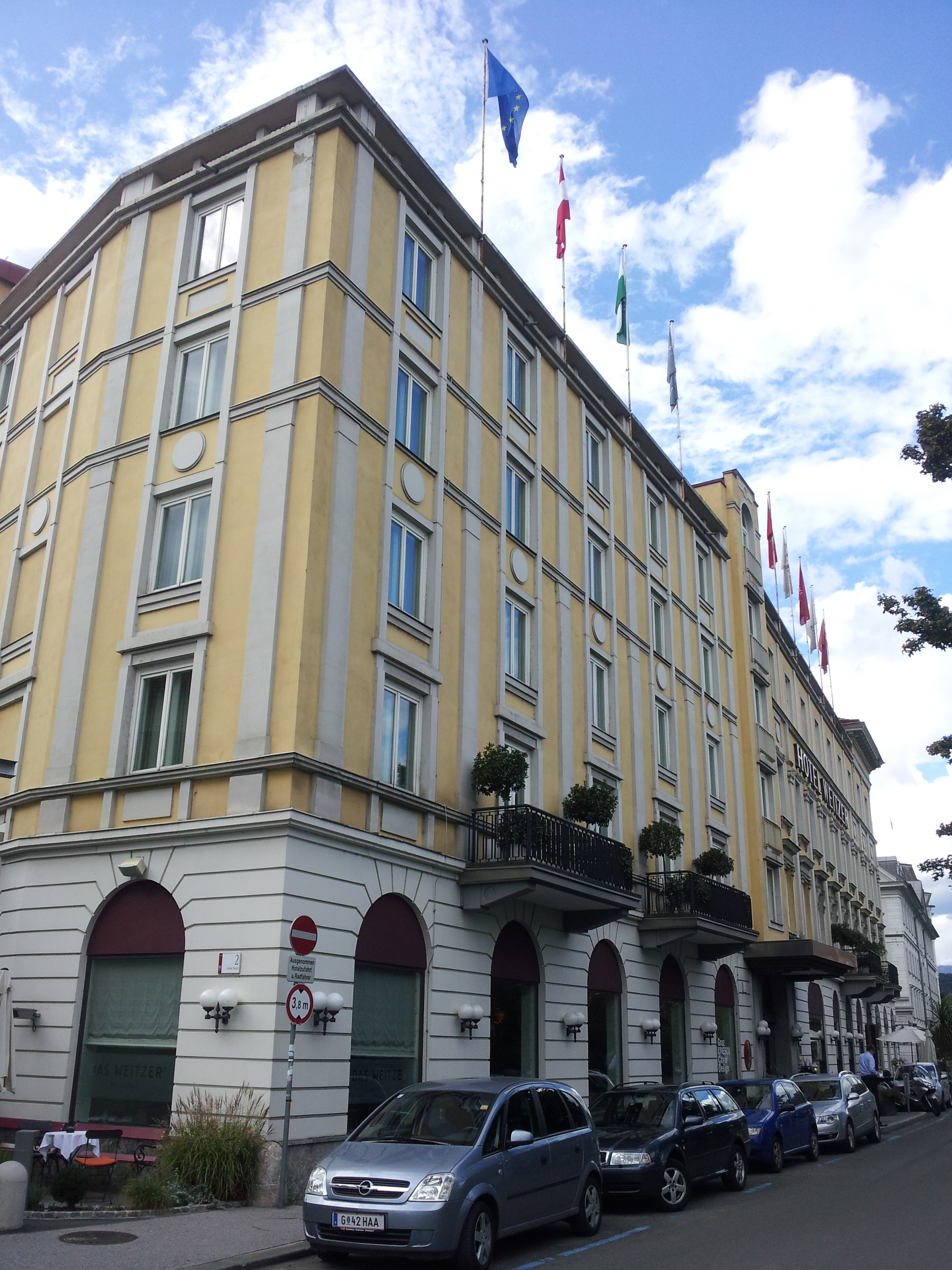 Hotel Das Weitzer Graz Osterreich