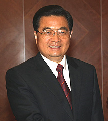 Hu Jintao - President of the People's Republic of China Hu_Jintao_%28Cropped%29
