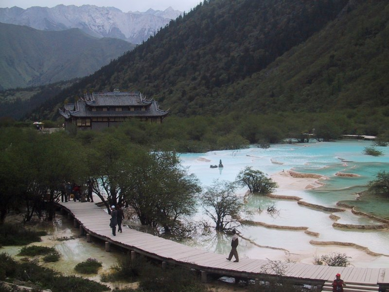 ����:Huanglonggou Pools.jpg
