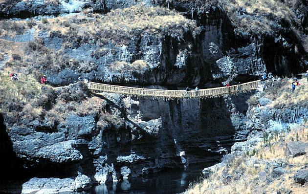 puente q'eswachaka queshuachaca bridge