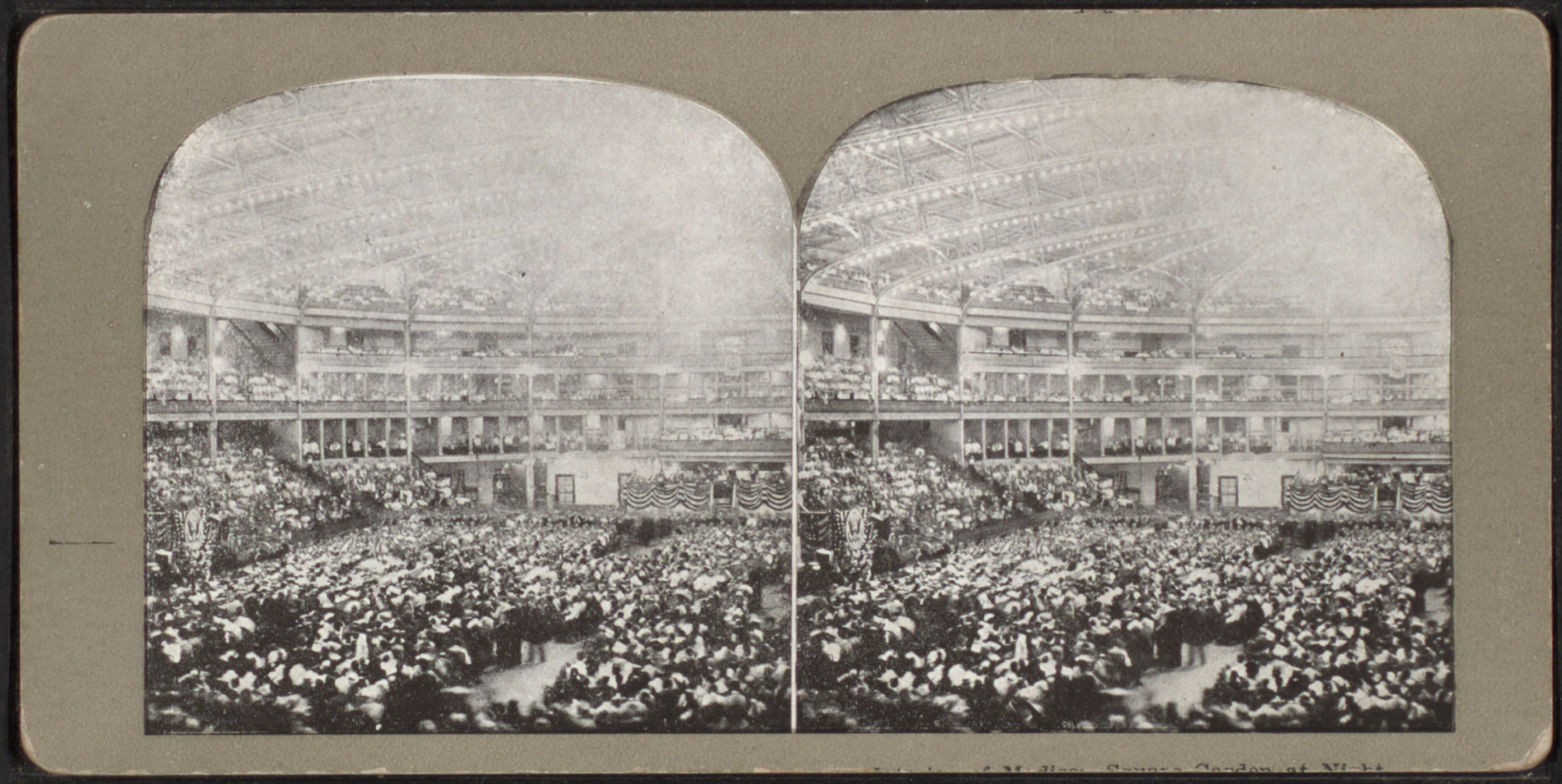 File Interior Of Madison Square Garden At Night From Robert N Dennis Collection Of