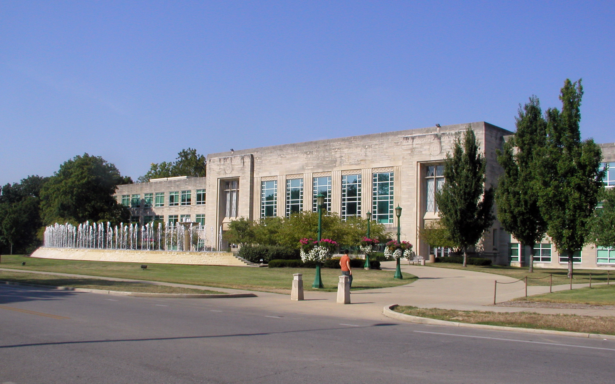 Indiana State University Fine Arts Building Address