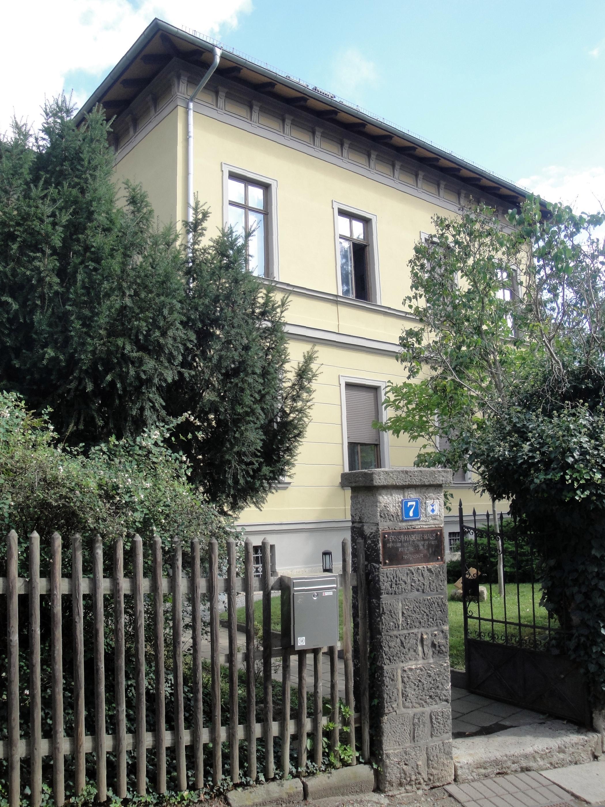 File Jena Ernst Haeckel Haus 01 Jpg Wikimedia Commons