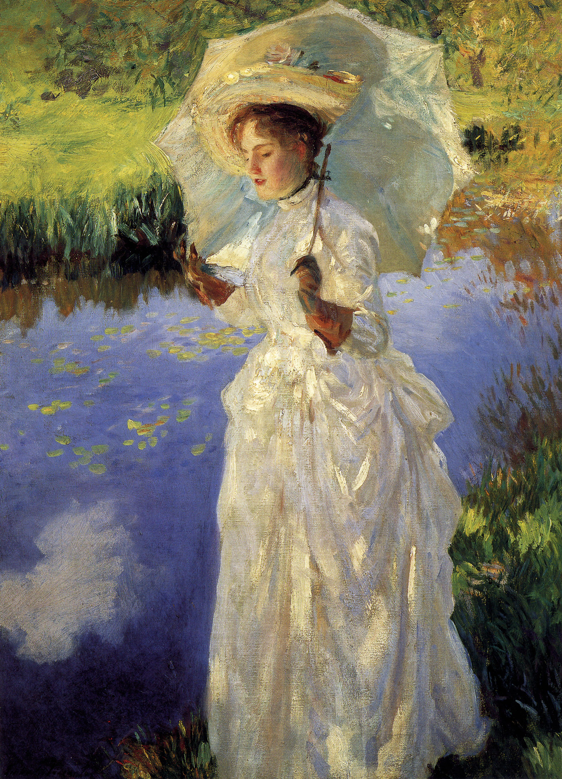ファイル:John Singer Sargent - Morning Walk.jpg - Wikipedia