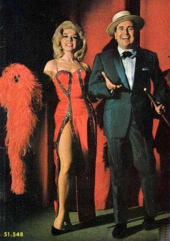 Mariquita Gallegos con Juan Carlos Mareco, en la época de ''Otras pinochadas''.