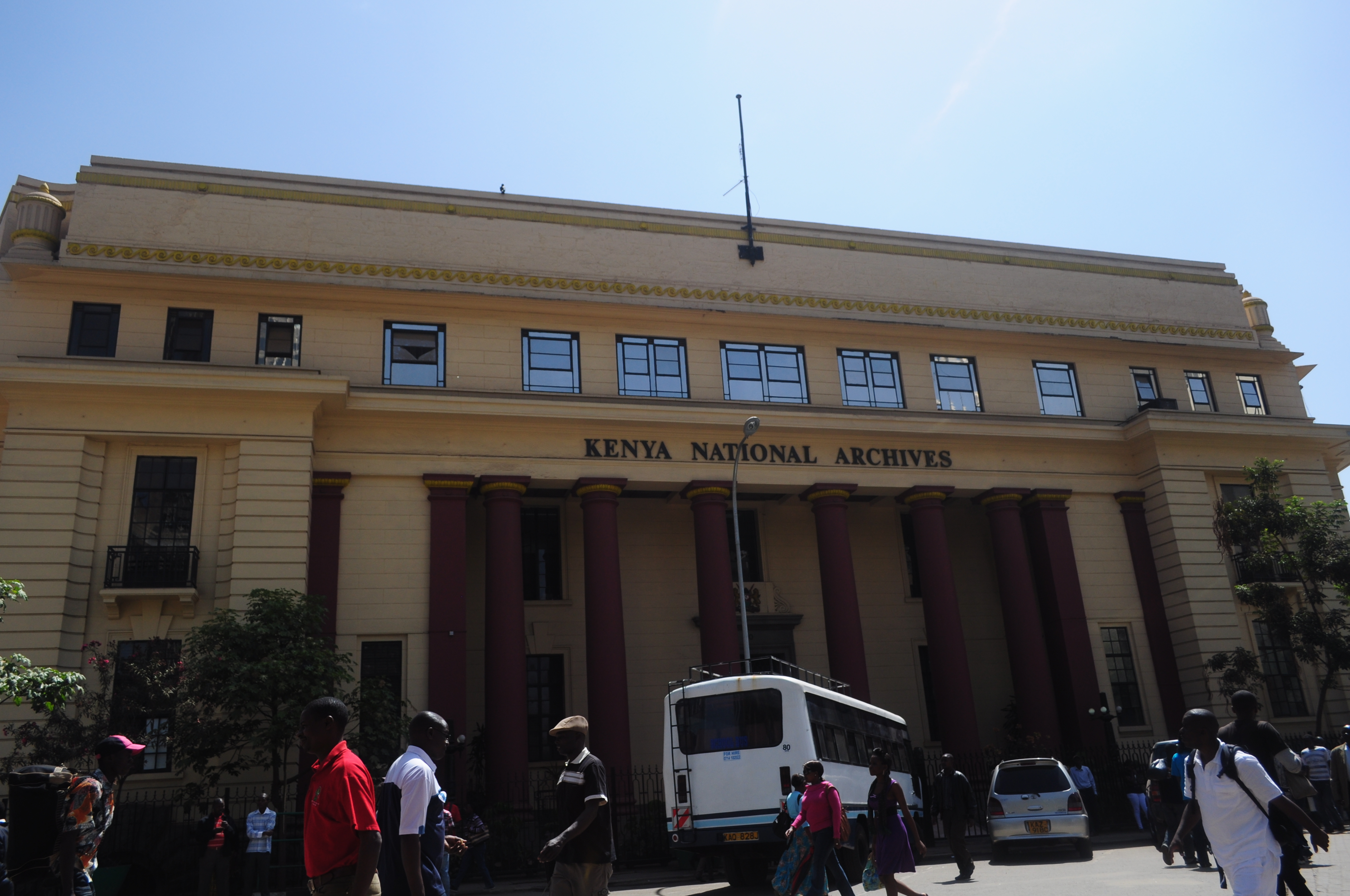 Смотреть Здание Парламента первого президента Кении видео