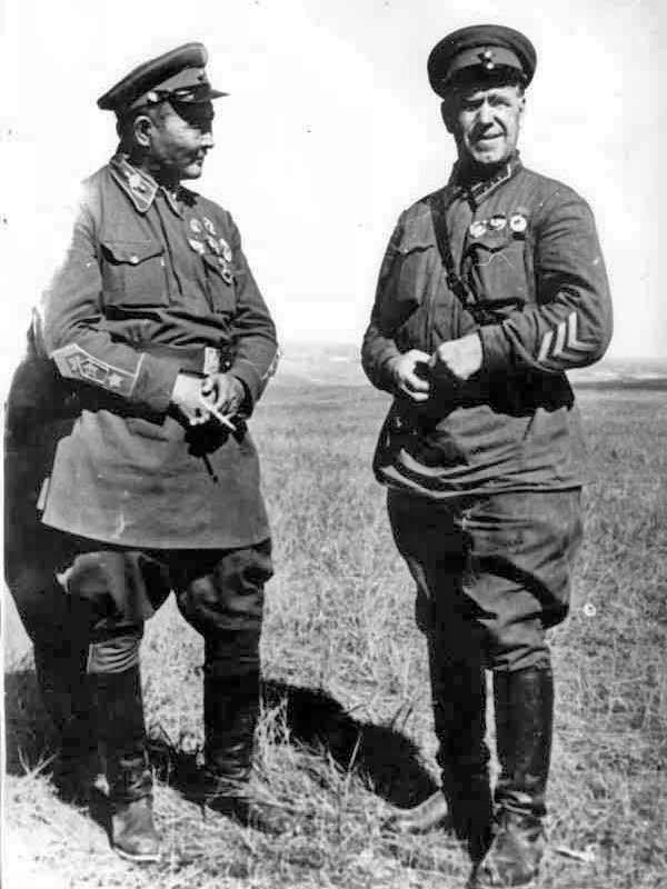 Resultado de imagen de georgi zhukov en Khalkhin-Gol