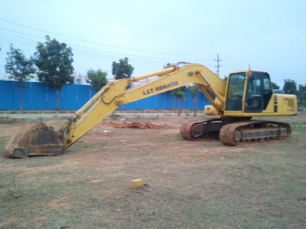 International Construction Equipment Shipping of Excavators