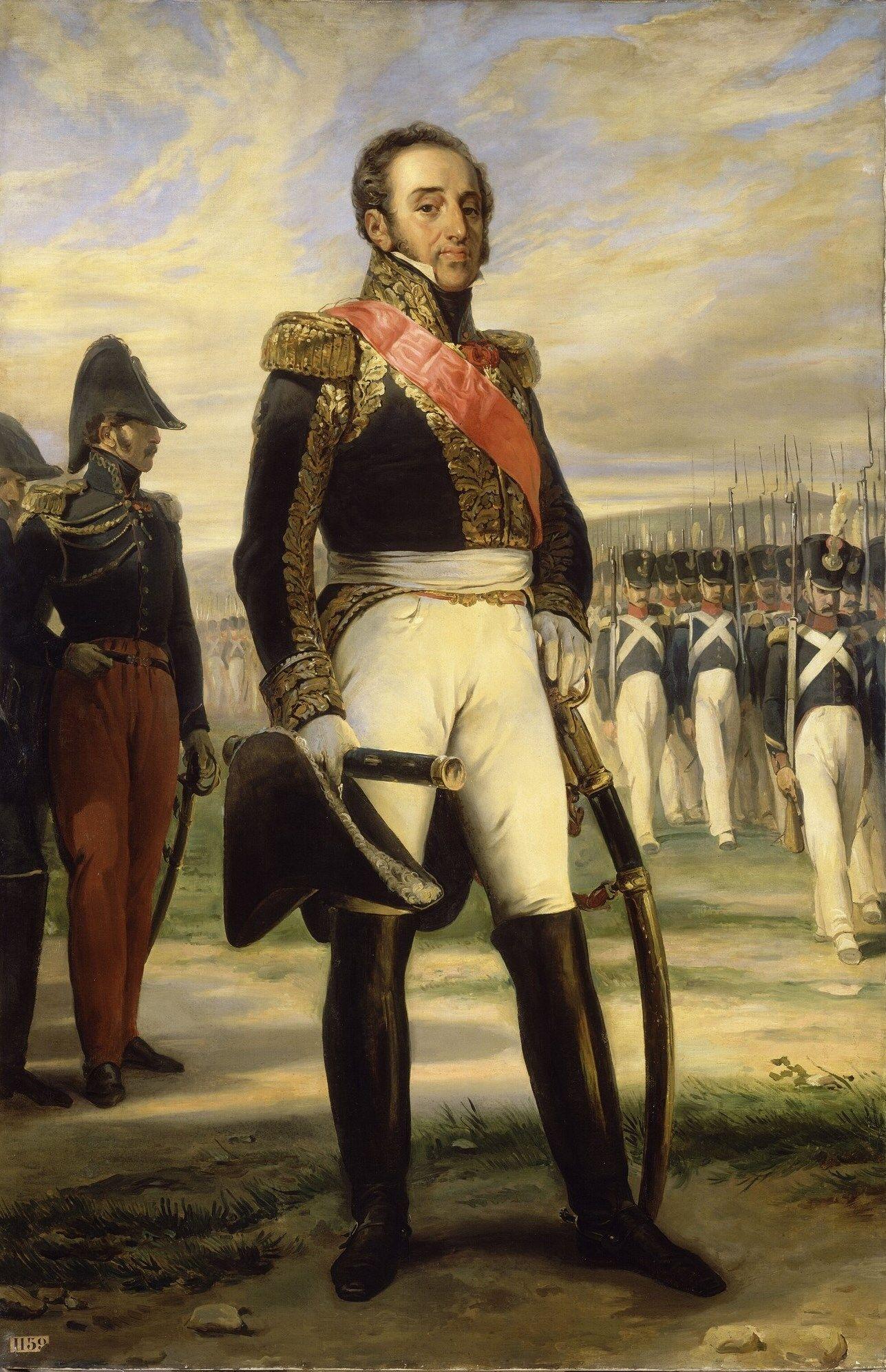 Le maréchal Louis-Gabriel Suchet, duc d'Albuféra, par Jean-Baptiste Paulin Guérin.