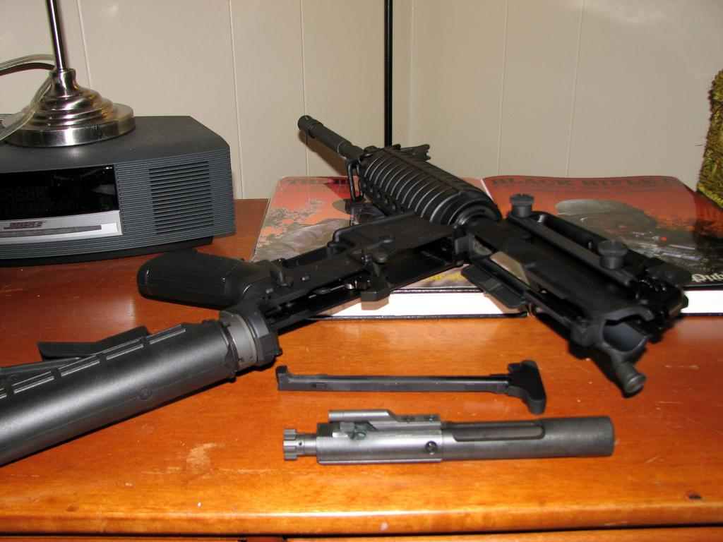 M-16の主要部分