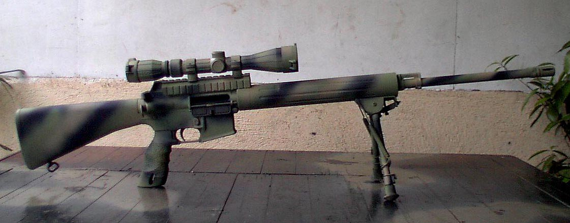 Gibbs A Sniper Scope W Rings And Mount C