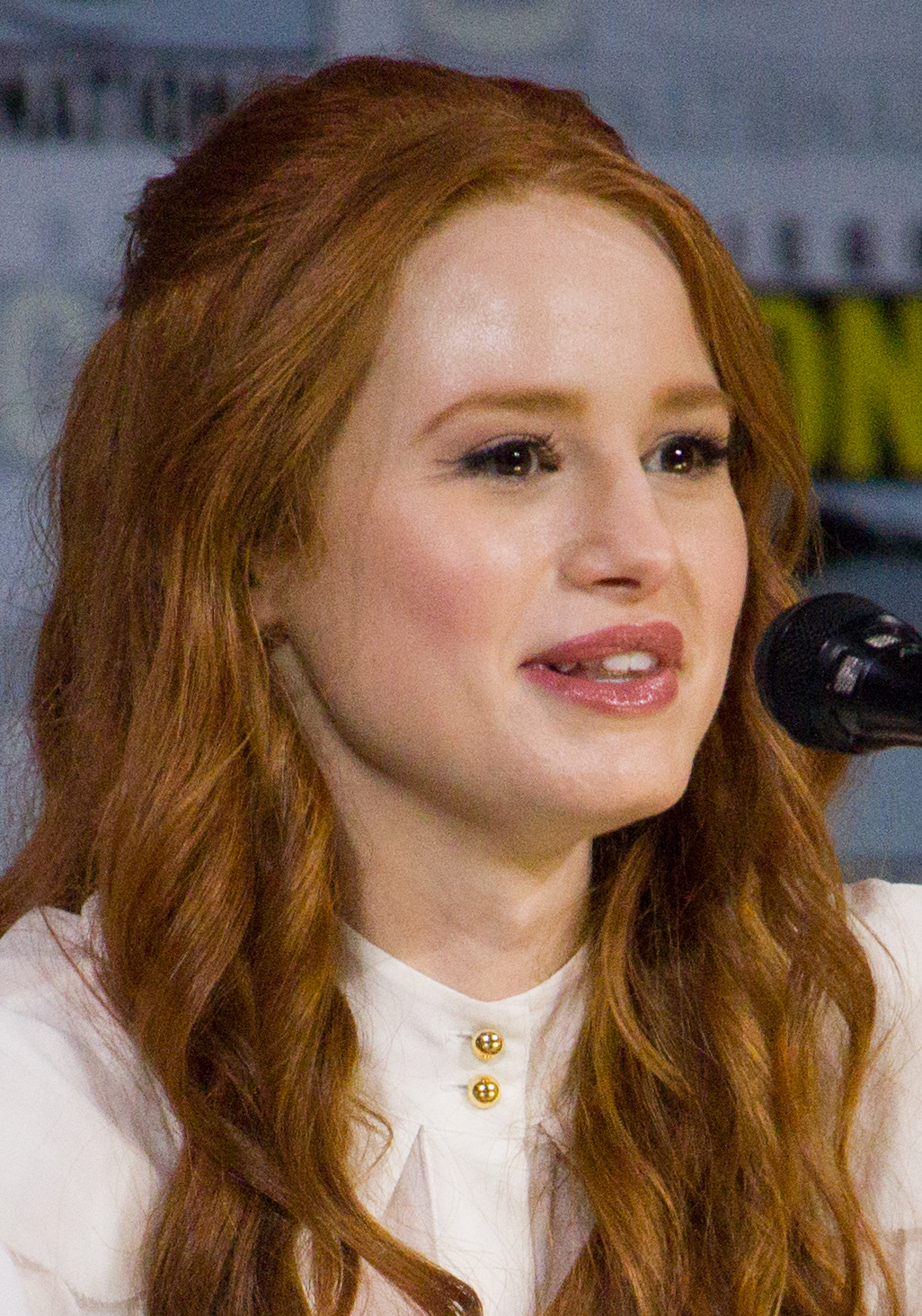 The 24-year old daughter of father (?) and mother(?) Madelaine Petsch in 2019 photo. Madelaine Petsch earned a  million dollar salary - leaving the net worth at  million in 2019