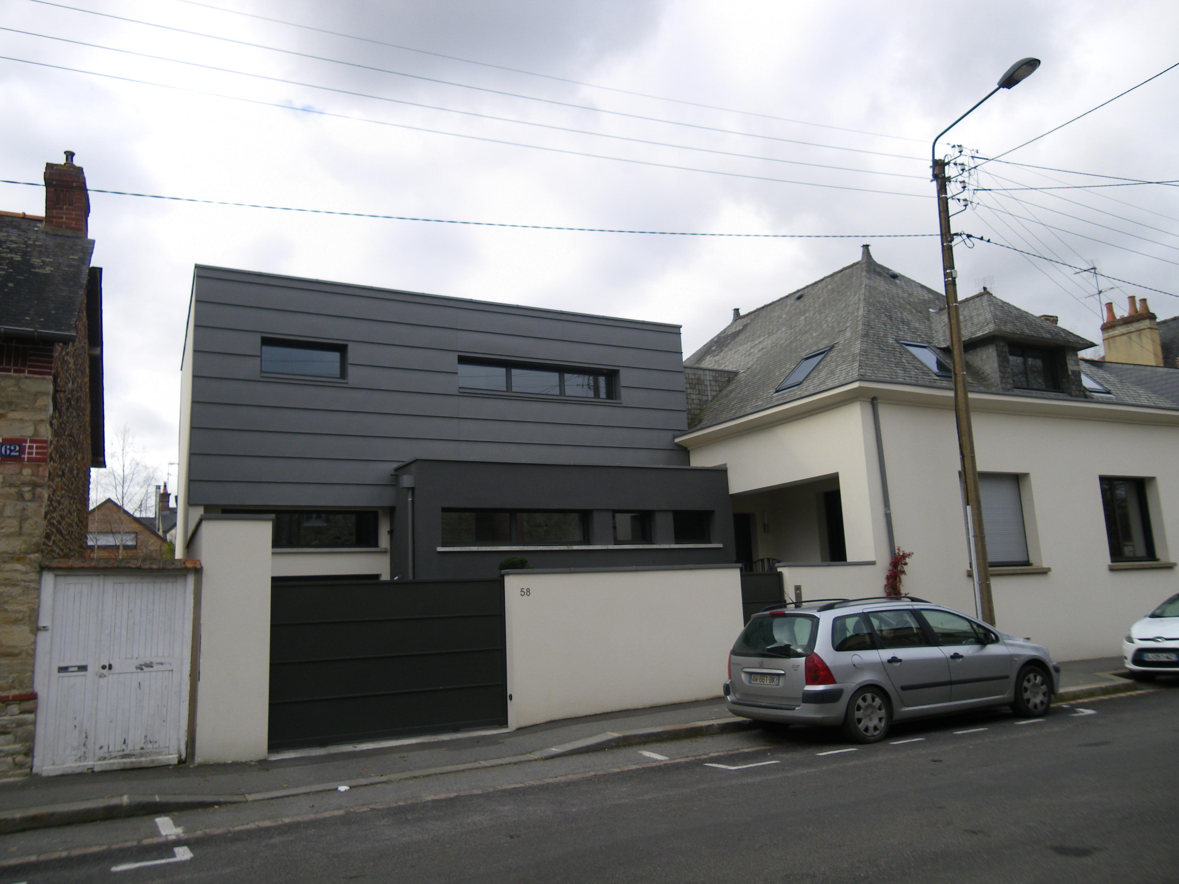 Image De Maison Moderne file:maison moderne rue alain bouchart a rennes - panoramio