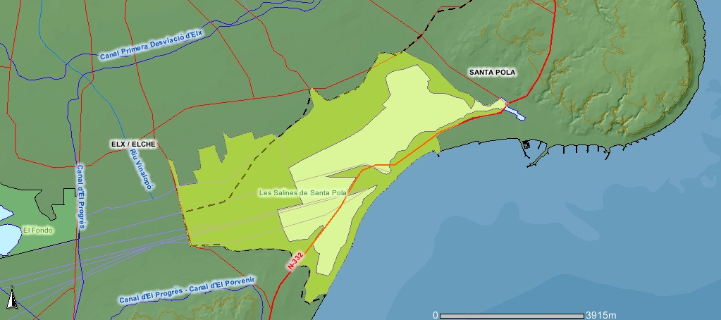 Mapa De Santa Pola.File Mapa Salinassantapola Png Wikimedia Commons