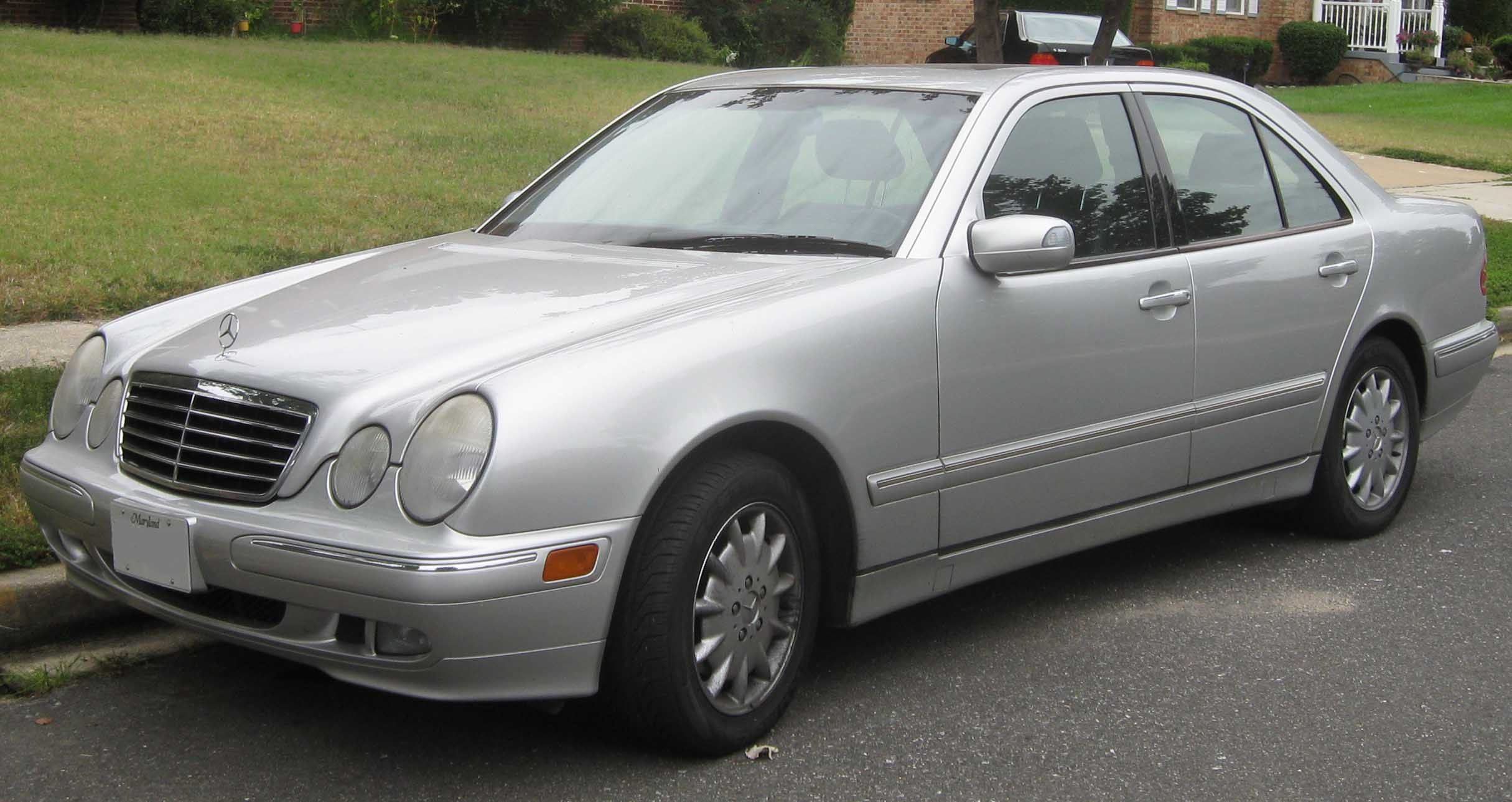 File Mercedes Benz E Class W210 Jpg Wikipedia