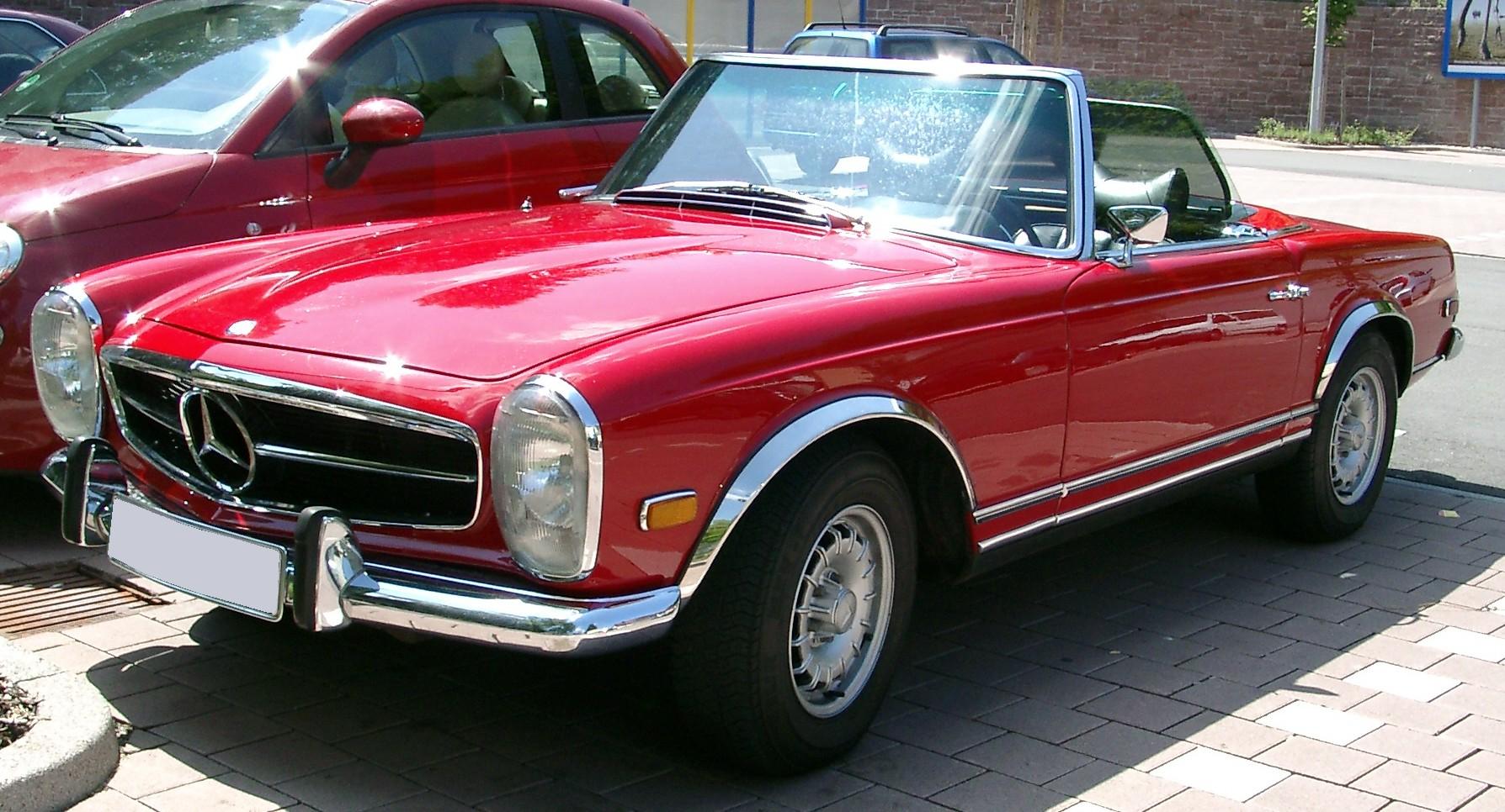 Pagodentreff De Mercedes Benz Pagode W