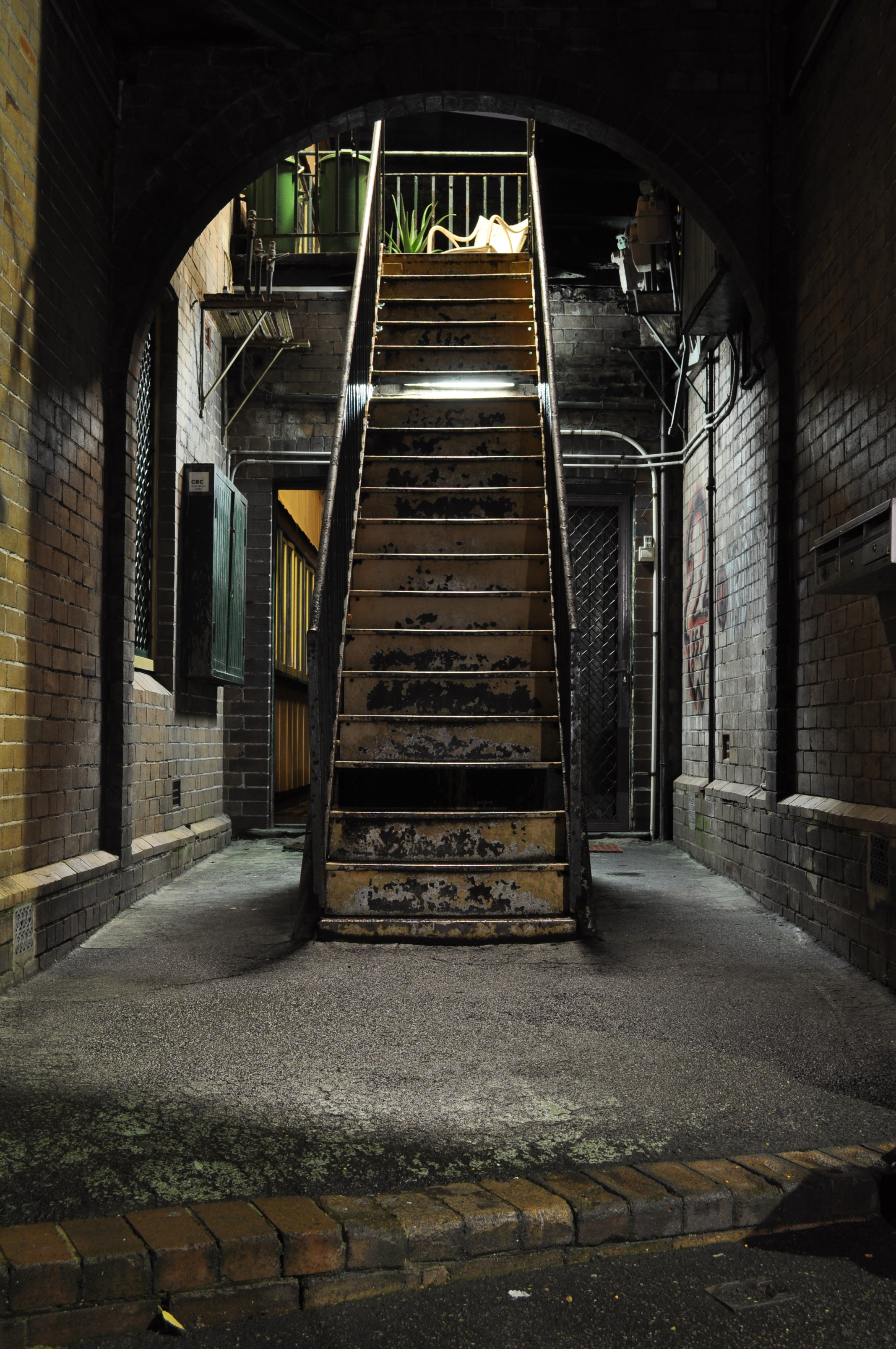 File Metal Stair In The Rocks Sydney Jpg Wikimedia Commons