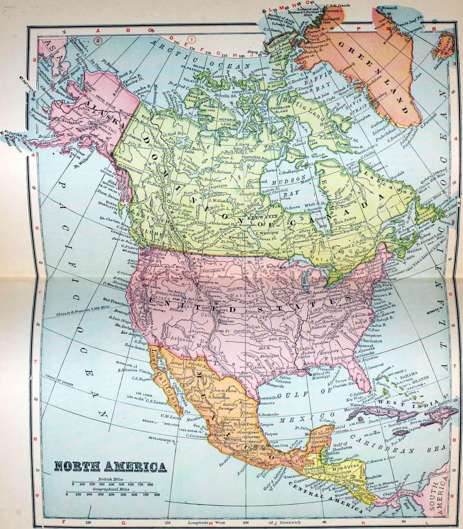1905 in North America