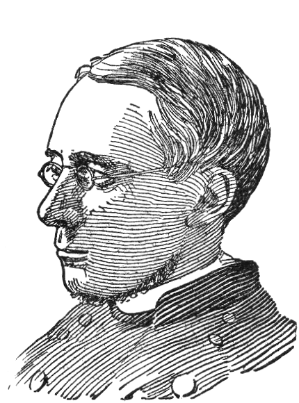 Rev. Dr. Morgan Dix, rector of Trinity Episcopal Church in New York City