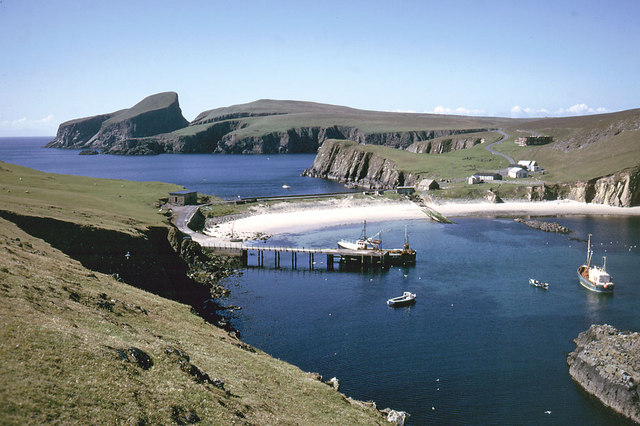 File:North Haven, Fair Isle 1974 - geograph.org.uk - 871058.jpg ...