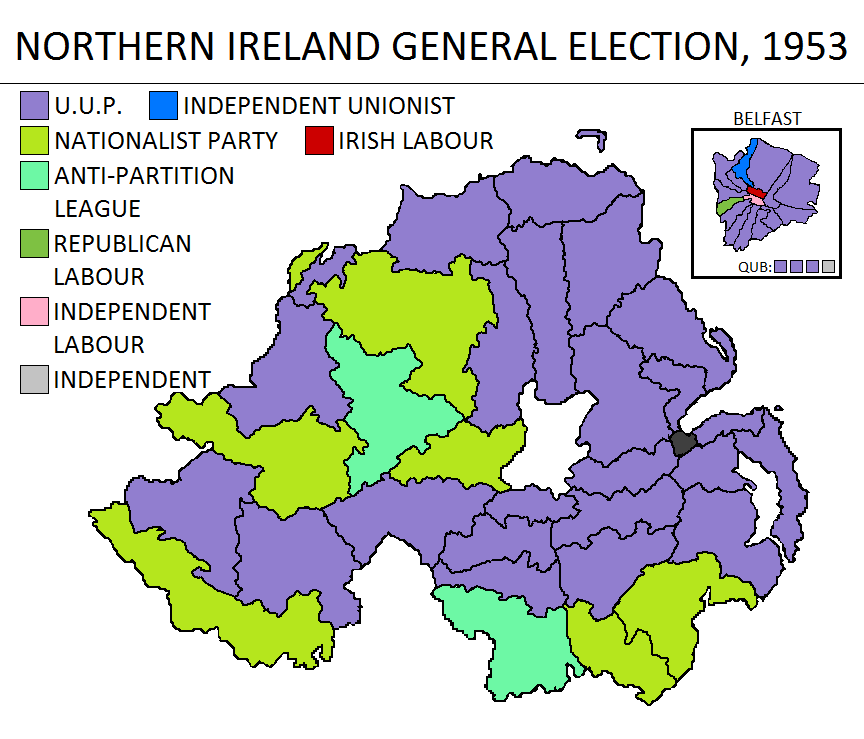 1953 Northern Ireland General Election