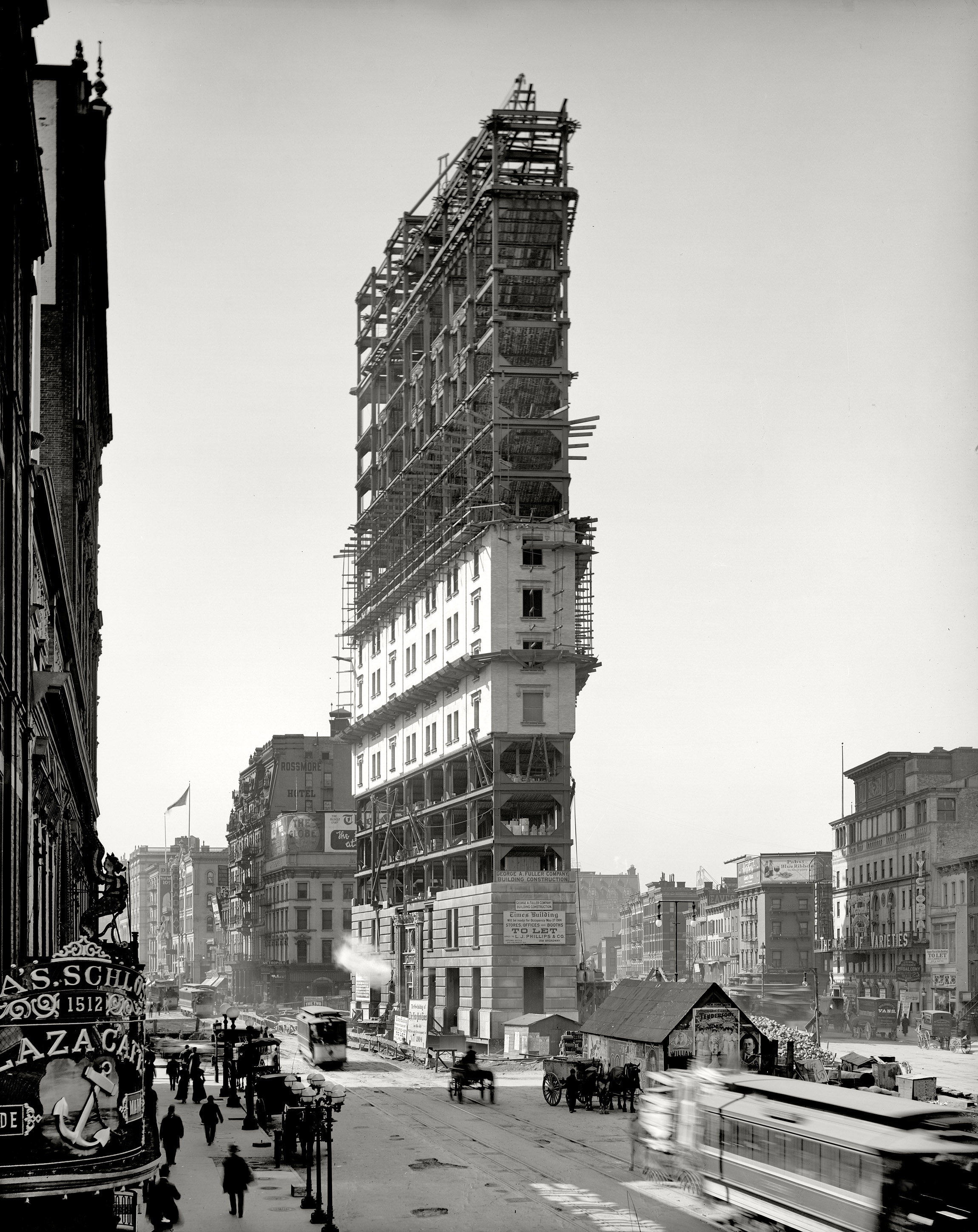 One Times Square, Times Square, NYC 1903