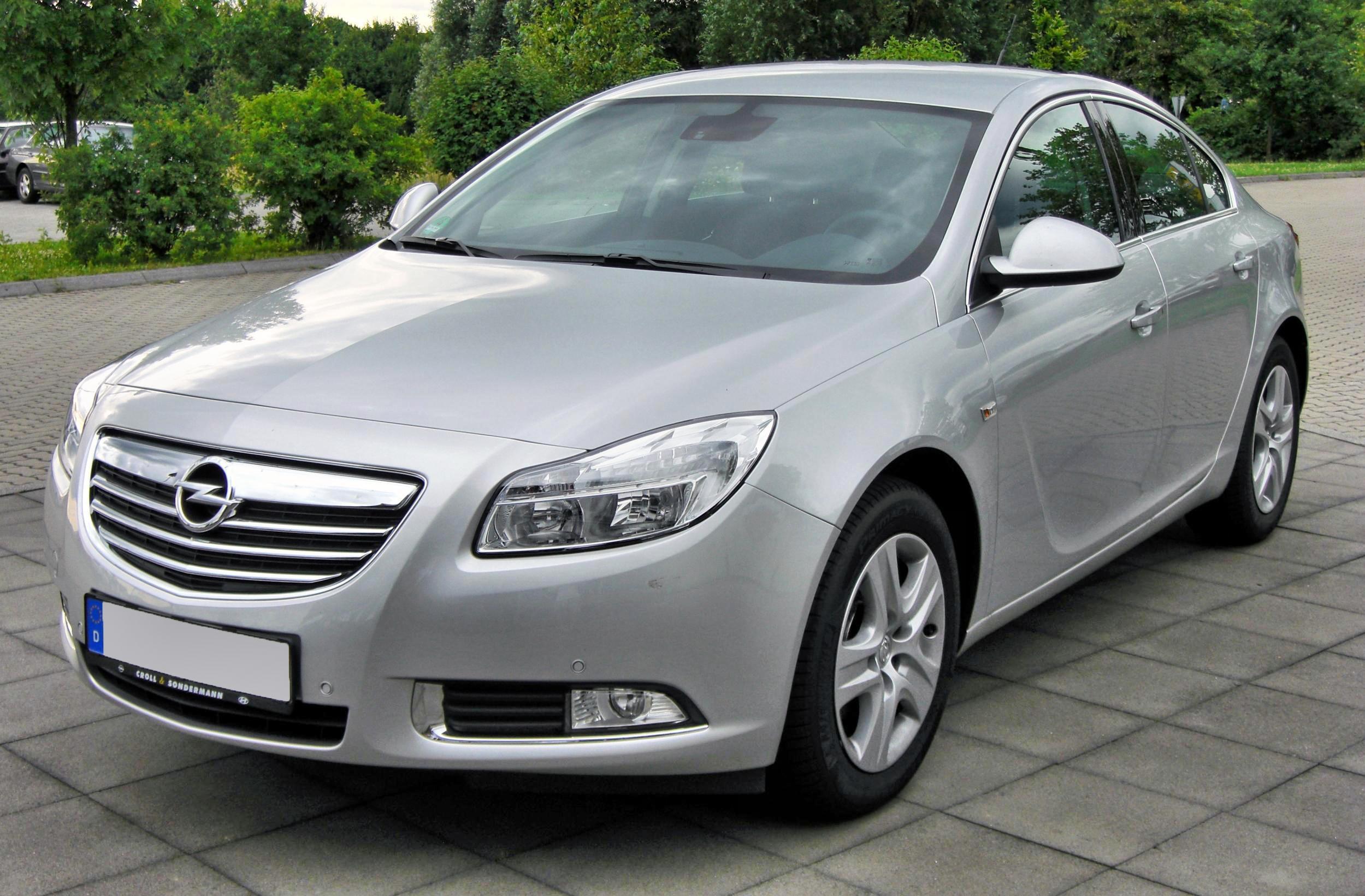 Opel Insignia Wiki >> File:Opel Insignia 20090717 front.jpg - Wikimedia Commons