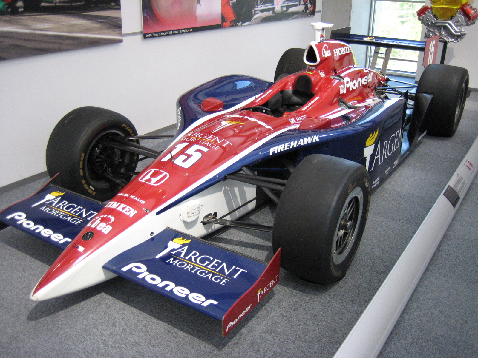 Larry Simmons Honda >> 500 miles d'Indianapolis 2004 — Wikipédia