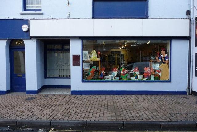 pelham puppet shop, no. 67 the high street, ilfracombe - geograph.org.uk - 1268059.jpg