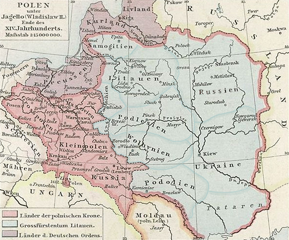 Poland during the reign of Wladyslaw II. Jagiello