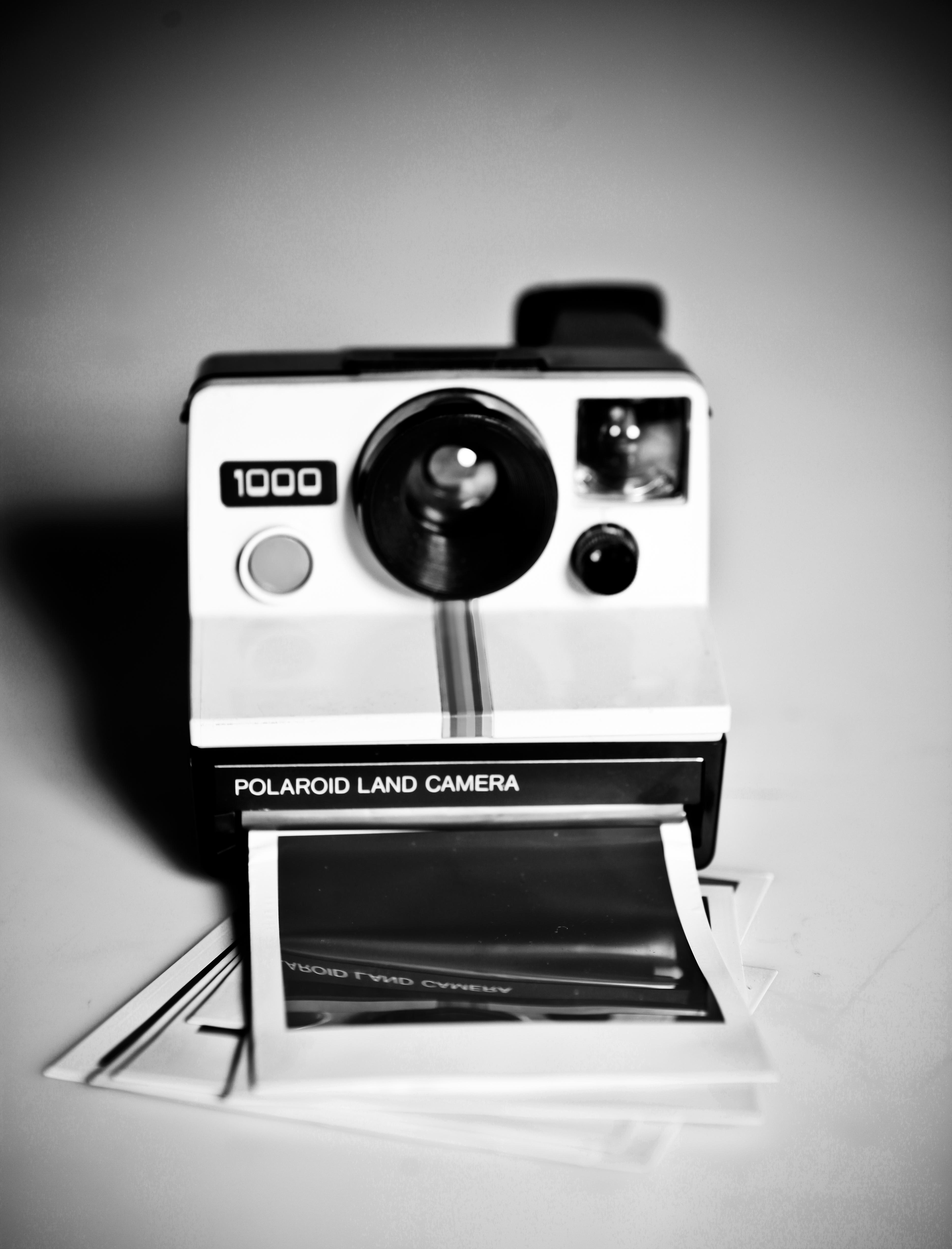b2c6ed97a Polaroid Land Camera 1000. Câmeras instantâneas imprimem imediatamente as  imagens fotografadas.